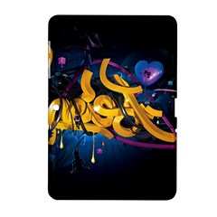 Sign Paint Bright  Samsung Galaxy Tab 2 (10 1 ) P5100 Hardshell Case  by amphoto