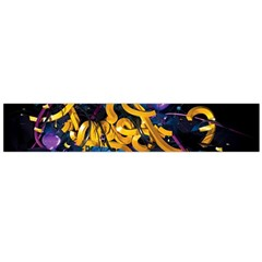Sign Paint Bright  Flano Scarf (large)  by amphoto