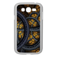 Circles Background Spots  Samsung Galaxy Grand Duos I9082 Case (white) by amphoto