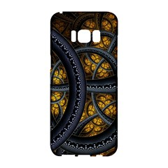 Circles Background Spots  Samsung Galaxy S8 Hardshell Case  by amphoto