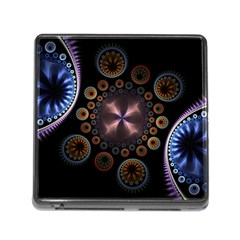 Circles Colorful Patterns  Memory Card Reader (square) by amphoto