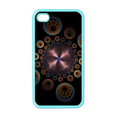 Circles Colorful Patterns  Apple Iphone 4 Case (color) by amphoto