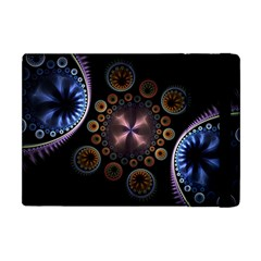 Circles Colorful Patterns  Apple Ipad Mini Flip Case by amphoto