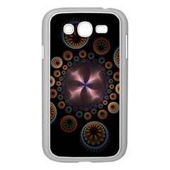 Circles Colorful Patterns  Samsung Galaxy Grand Duos I9082 Case (white)