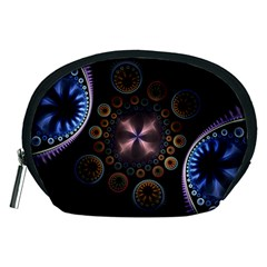 Circles Colorful Patterns  Accessory Pouches (medium)  by amphoto