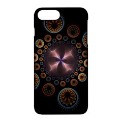 Circles Colorful Patterns  Apple Iphone 7 Plus Hardshell Case by amphoto