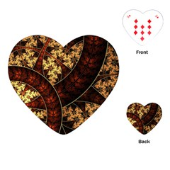 Patterns Line Pattern  Playing Cards (heart)  by amphoto