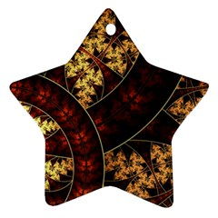 Patterns Line Pattern  Star Ornament (two Sides) by amphoto