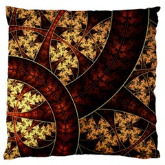 Patterns Line Pattern  Large Flano Cushion Case (two Sides) by amphoto