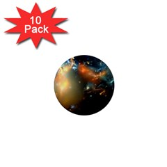 Explosion Sky Spots  1  Mini Magnet (10 Pack)  by amphoto