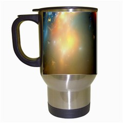 Explosion Sky Spots  Travel Mugs (white) by amphoto