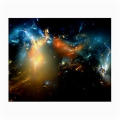 Explosion Sky Spots  Small Glasses Cloth (2 Side) by amphoto