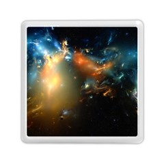 Explosion Sky Spots  Memory Card Reader (square)  by amphoto