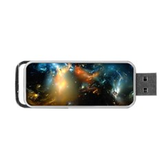 Explosion Sky Spots  Portable Usb Flash (two Sides) by amphoto