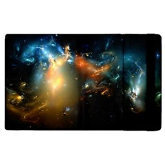 Explosion Sky Spots  Apple Ipad 2 Flip Case by amphoto