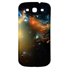 Explosion Sky Spots  Samsung Galaxy S3 S Iii Classic Hardshell Back Case by amphoto