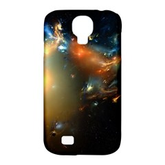 Explosion Sky Spots  Samsung Galaxy S4 Classic Hardshell Case (pc+silicone) by amphoto