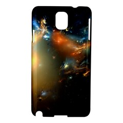 Explosion Sky Spots  Samsung Galaxy Note 3 N9005 Hardshell Case by amphoto