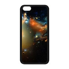Explosion Sky Spots  Apple Iphone 5c Seamless Case (black) by amphoto