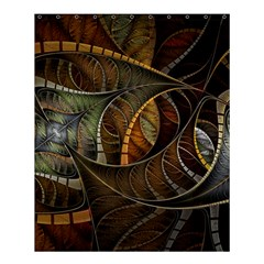 Mosaics Stained Glass Colorful  Shower Curtain 60  X 72  (medium)  by amphoto