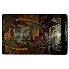 Mosaics Stained Glass Colorful  Apple Ipad 3/4 Flip Case by amphoto