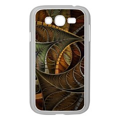 Mosaics Stained Glass Colorful  Samsung Galaxy Grand Duos I9082 Case (white) by amphoto