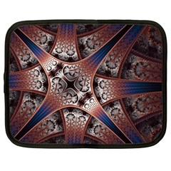 Lines Patterns Background  Netbook Case (large) by amphoto