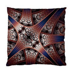 Lines Patterns Background  Standard Cushion Case (one Side) by amphoto