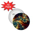 Patterns Paint Ice  1.75  Buttons (10 pack) Front