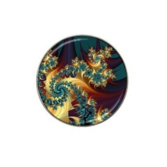 Patterns Paint Ice  Hat Clip Ball Marker by amphoto