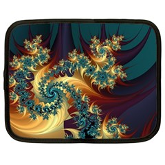 Patterns Paint Ice  Netbook Case (large) by amphoto
