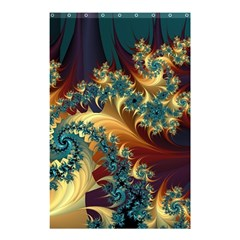 Patterns Paint Ice  Shower Curtain 48  X 72  (small)  by amphoto