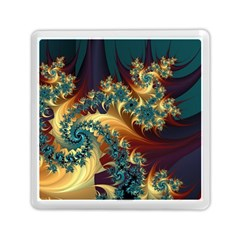 Patterns Paint Ice  Memory Card Reader (square)  by amphoto
