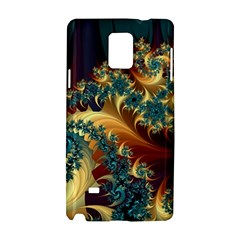 Patterns Paint Ice  Samsung Galaxy Note 4 Hardshell Case by amphoto