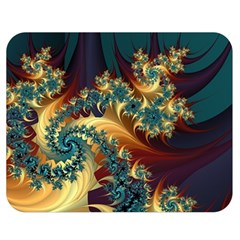 Patterns Paint Ice  Double Sided Flano Blanket (medium)  by amphoto