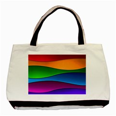 Layers Light Bright  Basic Tote Bag by amphoto