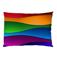 Layers Light Bright  Pillow Case by amphoto