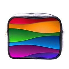 Layers Light Bright  Mini Toiletries Bags by amphoto