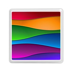Layers Light Bright  Memory Card Reader (square)  by amphoto