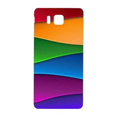 Layers Light Bright  Samsung Galaxy Alpha Hardshell Back Case by amphoto