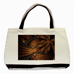 Patterns Background Dark  Basic Tote Bag by amphoto