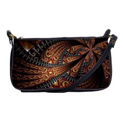 Patterns Background Dark  Shoulder Clutch Bags by amphoto