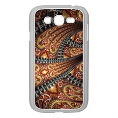 Patterns Background Dark  Samsung Galaxy Grand Duos I9082 Case (white) by amphoto