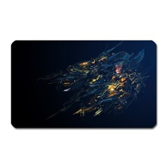 Spots Dark Lines Glimpses 3840x2400 Magnet (rectangular) by amphoto