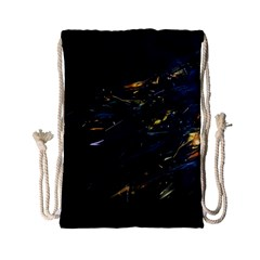 Spots Dark Lines Glimpses 3840x2400 Drawstring Bag (small) by amphoto
