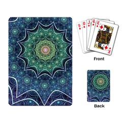 Background Line Light  Playing Card by amphoto