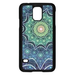 Background Line Light  Samsung Galaxy S5 Case (black)