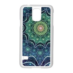 Background Line Light  Samsung Galaxy S5 Case (white)