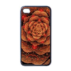Flower Patterns Petals  Apple Iphone 4 Case (black) by amphoto