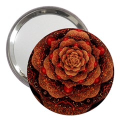 Flower Patterns Petals  3  Handbag Mirrors